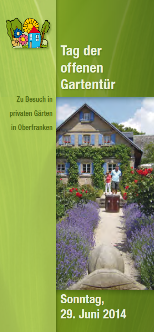 Offene Gartentür 2014